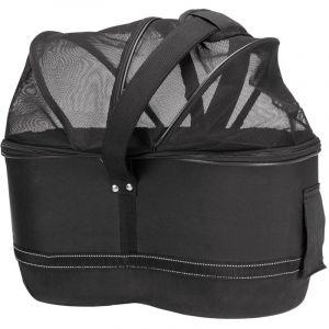 TRIXIE Panier arrière de vélo pour animaux compagnie 29x42x48 cm Noir