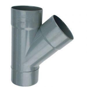 Culotte Femelle / Femelle simple PVC - 45° - Diamètre 50 mm - WAVIN