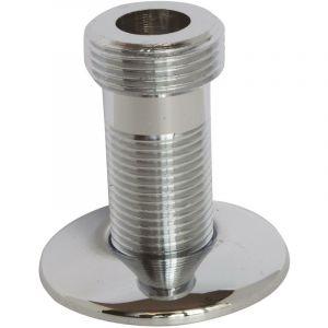 Somatherm For You - Raccord droit chromé 15/21 - mâle 20/27