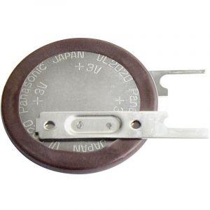 Pile bouton rechargeable lithium 3 V Panasonic VL2020-1VCE 20 mAh 1 pc(s)