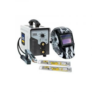 Gys - Poste soudure MMA inverter 10 kVA 10-180A avec masque LCD MASTER 9/13 G IRON - PACK PROGYS 180A