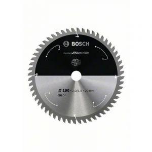 Bosch Lame de scie circulaire Standard for Aluminium pour scies sans fil 210x1.9/1.3x30, T54 - 2608837773