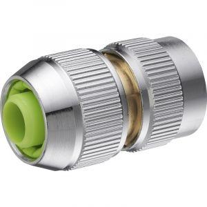 AROZ Raccord de connexion 6 billes automatique pour tuyau d'arrosage diamètre 15 mm