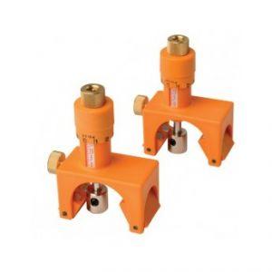 CMT : Jeu de 2 regleurs de fer pour arbre de raboteuse / dégauchisseuse 65 à 130mm