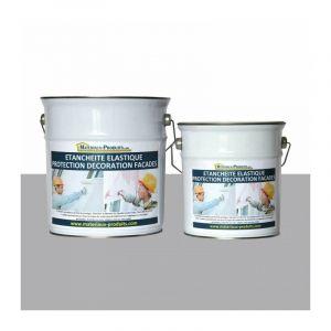 Peinture Etanche & Elastique Pour Protection Façade Gris Ciment - 10 Kg Gris ciment - MATPRO