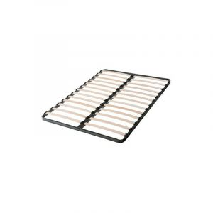 Sommier 140x190 cadre métal 2x13 lattes multiplis - LE QUAI DES AFFAIRES