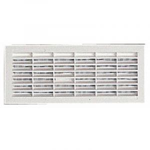 Grilles de ventilation rectangulaires à encastrer 108 x 314 mm - avec moustiquaire - NICOLL