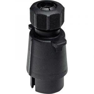 Prise mâle pour remorque SecoRüt 20120 [prise femelle 7 pôles - prise mâle 7 pôles] plastique ABS