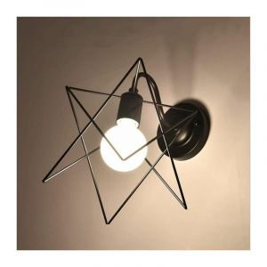 Lampe Applique Murale Métal Rétro Industrielle Eclairage Suspension Luminaire E27 - STOEX