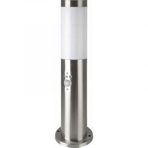 Lampe sur pied, acier inoxydable, détecteur de mouvement, H 45 cm, VT -838 - V-TAC