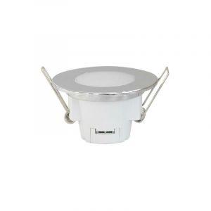 Spot LED Etanche 5W Rond Encastrable ALU IP65 - Blanc Froid 6000K - 8000K - SILAMP