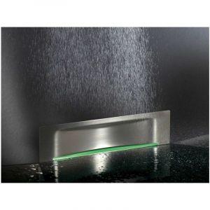 Scada avec plaque à carreler 90 | Grille Wave - Sans éclairage - KESSEL