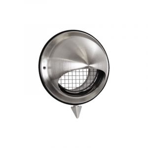 Prise/rejet air VMC inox D160 mm - ECONONAME - ME-INOX-160 Diamètre 160 mm
