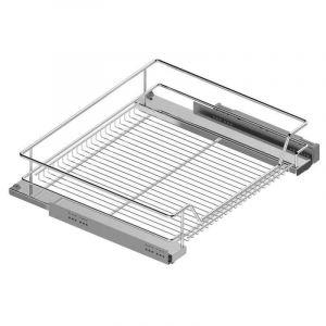 Panier coulissant - Pour caisson de largeur : 600 mm Amortisseur : Avec - Menage&confort