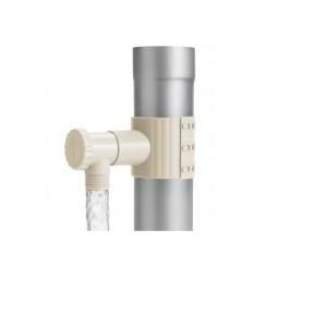 Récupérateur d'eau de pluie sable pour gouttière + scie cloche - INTERPLAST