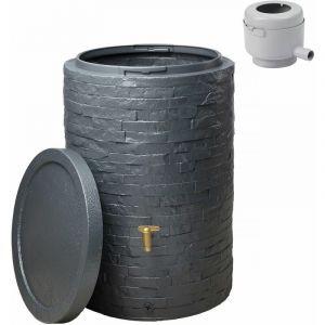 Graf - Kit cuve ARRONDO 250 L Gris graphite - Ø 65 x 93 cm