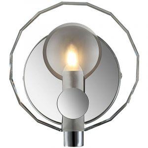 Etc-shop - Lampe murale LED design en chrome avec verre cristal