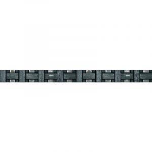 Listel Tissu Noir 48mm - BANYO