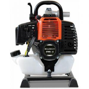 Boudech - Motopompe à eau thermique auto-amorçante avec moteur à essence 42,7Cc