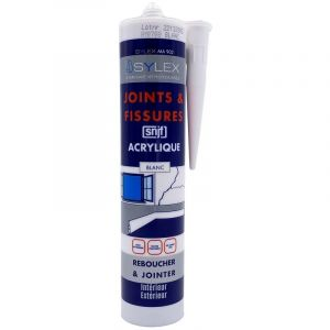 Mastic Joints et Fissures SNJF 280ml SYLEX MA 902 | Couleur: Blanc