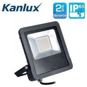 Projecteur LED extérieur 10W à 50W IP65 ANTOS SANS détecteur 50W 4000K 4000lm - KANLUX