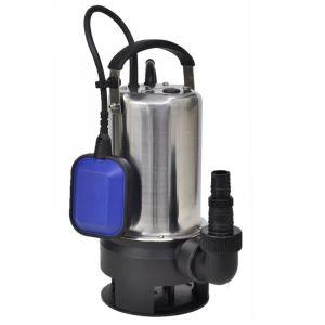 Pompe submersible pour eaux sales 1100 W 16500 L/h - VIDAXL