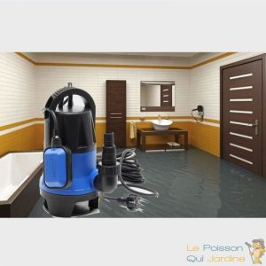 Www.lepoissonquijardine.fr - Pompe Eaux Sales ou Vide Caves, Irrigation, Vidanges 14000 l/h