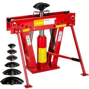Presse Hydraulique 12 Tonnes 90°+ 6 matrices + Accessoires - TECTAKE