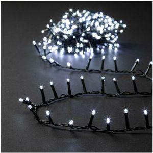 Guirlande Lumineuse Intérieure et Extérieure 5 m 168 LED Blanc froid et 8 jeux de lumière - Feeric Christmas