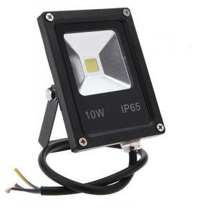 Projecteur LED Intérieur/Extérieur Extra Plat Blanc Froid 10W, 20W, 30W, 50W | Puissance Watt: 10 watts/ 970lm/ ~88w - SYSLED