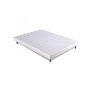 Sommier Tapissier 140x190 + Pieds Offert - KBEDDING