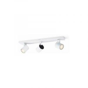 Spot de plafond LED GU10 EEC: A+ (A++ - E) 10.5 W Philips Lighting Runner 5309331P0 blanc