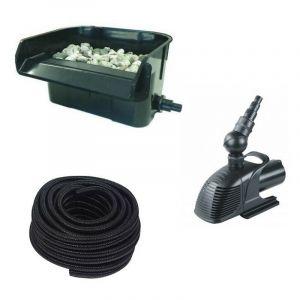 Cascade - Lame D'Eau + Pompe + Tuyau : Set Complet De Décoration - LE POISSON QUI JARDINE