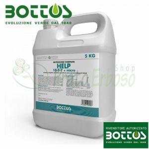 Aider 10-5-7 + micro - liquide Engrais pour la pelouse de 5 kg - BOTTOS
