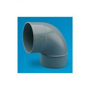 Coude PVC mâle-femelle 87°30 O160 - ADEQUA