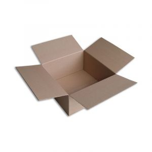 Lot de 100 Boîtes carton (N°54) format 400x400x200 mm - ENVELOPPEBULLE