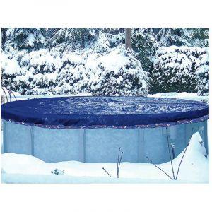 Bâche hiver ovale 8,60 x 5,70 m - Pour piscine hors sol 7,60 x 4,70 m - - - ASTRALPOOL