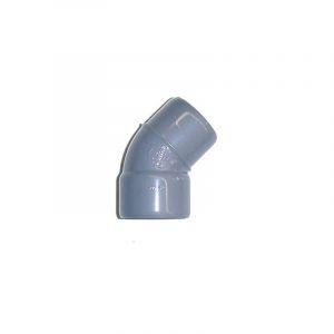 Coude Mâle / Femelle PVC - 22° - Diamètre 40 mm - NICOLL