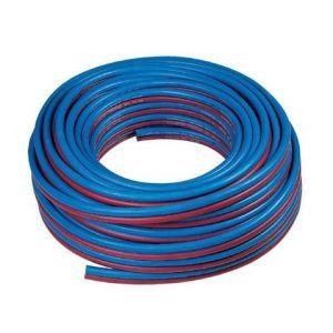 Tuyau caoutchouc bleu - rouge (oxygène - acétylène)
