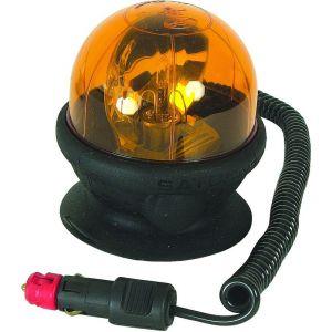 Gyrophare magnétique et ventouse saturnello 12 volts - S16307 - SACEX