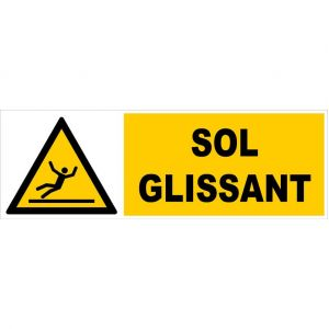 Panneau Sol glissant - Rigide 450x150mm - 4062761 - NOVAP
