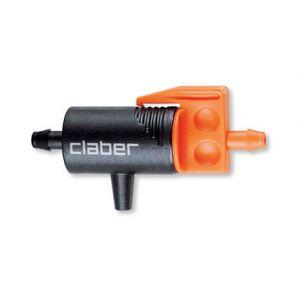 Goutteur en ligne pour tuyau 4x6 - CLABER