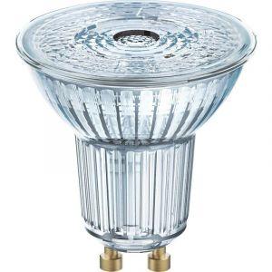 OSRAM LED EEC A+ (A++ - E) GU10 réflecteur 6.90 W = 80 W blanc chaud (Ø x L) 51 mm x 55 mm 1 pc(s)