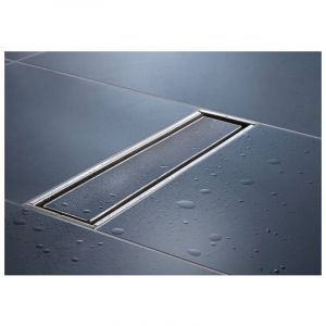 Kessel - Caniveau de douche réversible Linearis Compact, 105