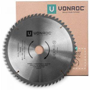 Lame de scie universelle. 254 mm de diamètre – 60 dents – MS803AA - VONROC