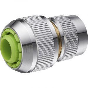 AROZ Raccord de connexion 6 billes automatique pour tuyau d'arrosage diamètre 19 mm