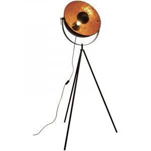 Lampadaire cinéma en métal sur trépied 180 cm - THE HOME DECO FACTORY