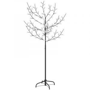 Sapin de Noël 120 LED blanc froid Cerisier en fleurs 150 cm - VIDAXL