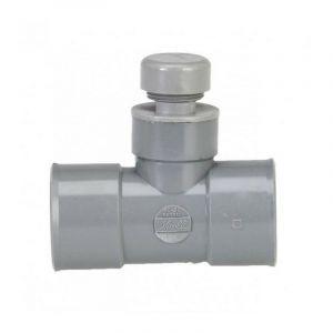 Anti-bruit et odeur en té PVC (32) - Ø mm : 32 - GIRPI