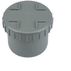 Tampon de visite en PVC - Diamètre 125 mm - WAVIN